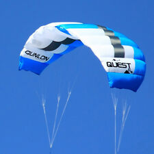 3m² Blue 2-Line Trainer Kite Power Kite Water Sports Kiteboarding KITESURFING