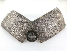 .STUNNING IMPERIAL RUSSIAN CAUCASUS 84 SILVER ORNATE CEREMONIAL BELT BUCKLE.