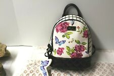 BETSEY JOHNSON BACKPACK lbjaz Small floral with butterfly  NWT