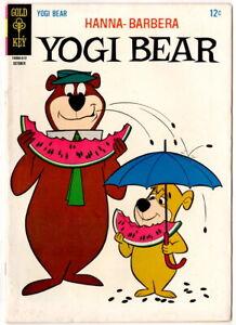 Yogi Bear #26, October 1966, vintage Gold Key Comic, HIGHER GRADE