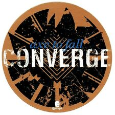CONVERGE Axe To Fall Ltd Ed Discontinued RARE Sticker +FREE Metal Punk Stickers!