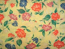 Cotton  Fabric Flowers BTY