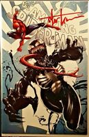AMAZING SPIDER-MAN #15 C KIRKHAM SIGNED VARIANT GWEN GHOST SHE-VENOM RED GOBLIN