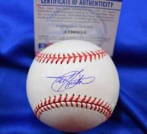 Todd Helton PSA DNA Coa Autograph Major League OML Signed Baseball