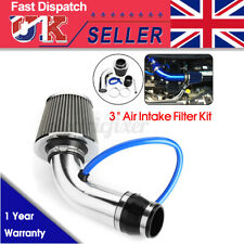 3'' Universal Car Cold Air Intake Induction Hose Pipe Kit System + Filter