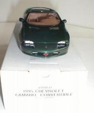 1995 CHEVROLET CAMARO CONVERTIBLE ORIG DEALER PROMOTIONAL CAR POLO GREEN #8901EO