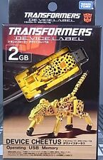 TRANSFORMERS TAKARA DEVICE LABEL 2GB FLASH USB MISB