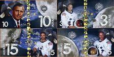 POLYMER SET, El Club De La Moneda 3;5;10;15 Aguilas 2019 (2018) > Moon Landing