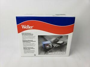 Weller WESD51 Digital Solder Station 120V, 50W W/ PES51 Iron Unit & Rest