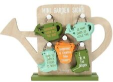 Garden Lover Wooden Quote Hanging Sign Plaque Gardeners Know All The Dirt