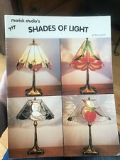Shades of  Light Stained Glass Pattern Book