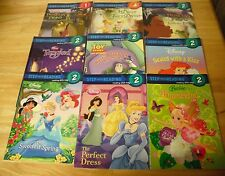 9 Disney Step into Reading books Princess & the Frog, Princesses, Toy Story
