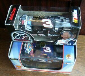 2 x Nascar Models Dale Earnhardt #3 & Dale Earnhardt Jr #3 1999 1/64 Die Cast