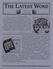R.E.M. Fanclub Newsletter Nov/Dec 1993 Vol.2 No.10