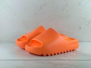 adidas Yeezy Slide Enflame Enfora Orange GZ0953 Size 8 Free Shipping IN HAND