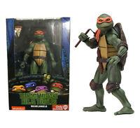 "NECA Teenage Mutant Ninja Turtles Michelangelo 1990 Movie 7"" Figure - In Stock"