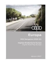 Audi Navigationssoftwares in Europa