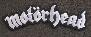 MOTORHEAD WORDING Embroidered Iron On Sew On Patch