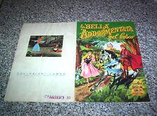 ALBUM LA BELLA ADDORMENTATA NEL BOSCO LAMPO 1960 MANCANO 42 FIGURINE(Q.COMPLETO)
