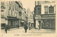 A View of the Shops at Carrefour Saint-Nicolas et Rue Marchande, Le Mans France
