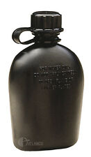 CANTEEN 1 Qt. Military Issue for Military Campers Hikers - Black