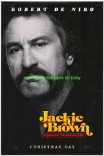 Jackie Brown Movie Poster Original N.Mint Ss 27x40 Robert De Niro Advance Style
