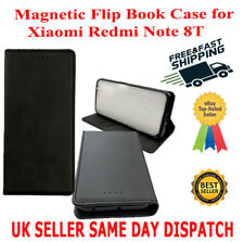 Magnetic Flip Book Cover Case for Xiaomi Redmi Note 8T Card,Wallet,Leather,Slim