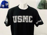 Marine Corps T Shirt USMC MilitRY SHIRT dd214 VETERAN