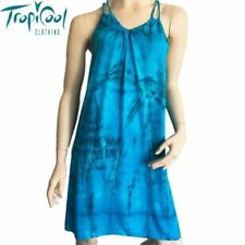 Unbranded Women's Tie Dye Short Sleeve Dresses