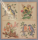 GOLDEN BEE #60203 Birds Patchwork Picture Counted Cross Stitch Kit - NEW