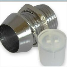 10 x 3mm LED Bezel Holder Chrome Metal Pack of (10) USA Seller A168