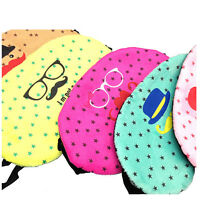 Cute Eye Sleeping Rest Travel Sleep Mask Soft Cover Shade Blinder Blindfold DSUK