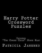 Harry Potter Crossword Puzzles : Includes the Cursed Child Stage Play: By Jan...