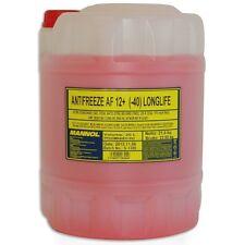 20 Liter Kühler Frostschutz gemäß G12+ G12 Plus rosa rot Mannol Külflüssigkeit
