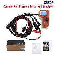Neuf CR508 Common Rail Pressure Tester and Simulator Support Bosch, Denso,Delphi