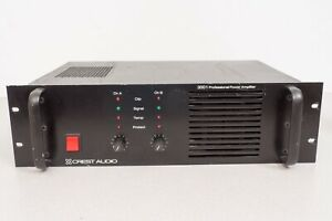 Crest Audio 3001 Professional Audio Amplifier Up to 1100 Watts - Needs AC Cable