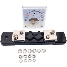 Us Stock Dc 020a Analog Amp Current Pointer Needle Panel Meter Ammeter Amp Shunt