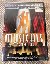 Musical TEN (10) MOVIE SET - DVD Format - The Golden Era (3-Disc Set) SEALED/NEW