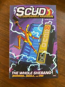 Scud: The Whole Shebang 6th Printing -  Signed by Rob Schrab