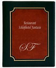 Speisekarten von RH mit Logodruck Getränkekarten Menükarte Format A4