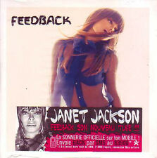 ★☆★ CD Single Janet JACKSON Feedback 2-track CARD SLEEVE Sticker NEW SEALED  ★☆★