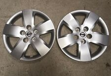 """Pair of 2 53076 NEW Nissan Altima 16"""" Wheelcover Hubcaps 2007 08 09 10 Free Ship"""