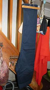 """Mens H&M Navy Cotton Trousers Size 36""""W/33""""L"""