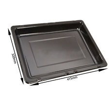 IGNIS Genuine Oven Cooker Grill Enameled Fat Pan Tray (415mm x 320mm)