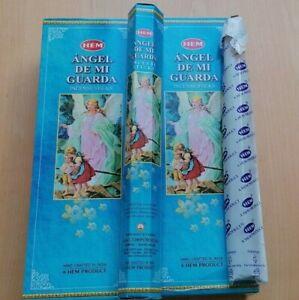 20 HEM Räucherstäbchen Schutzengel Angel De mi Guarda Incense Sticks