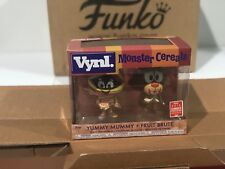 Funko Pop SDCC 2018 Exclusive Yummy Mummy and Fruit Brute Monster Cereals Vynl