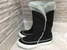 9d29e66445bd9e Converse Girls suede winter Boots Size UK12 kids