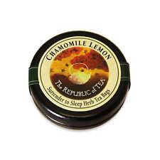 The Republic Of Tea Chamomile Lemon Herbal Tea, 6 Tea Bag Traveler Tin