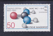 Germany 1379 MNH 1982 Urea Model & Synthesis Formula Friedrich Wohler Chemist