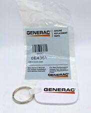 Generac 0E4361 KEYCHAIN OEM, SAME DAY SHIPPING